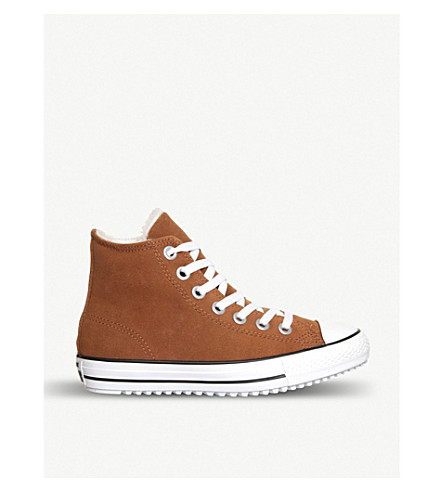CONVERSE Chuck Taylor All Star high-top trainers (Toffee shearling