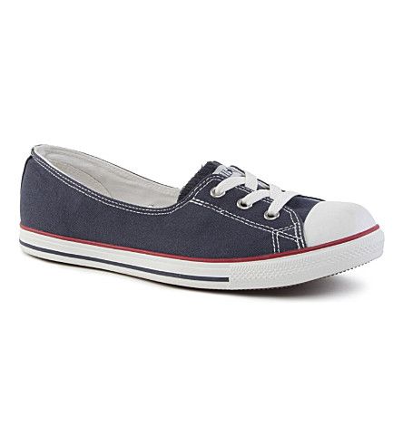 CONVERSE Dance lace low-top sneakers (Navy