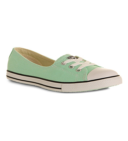 CONVERSE Dance lace low-top trainers (Peppermint