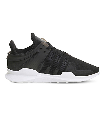 ADIDAS Equipment Support adv mesh trainers (Black+white