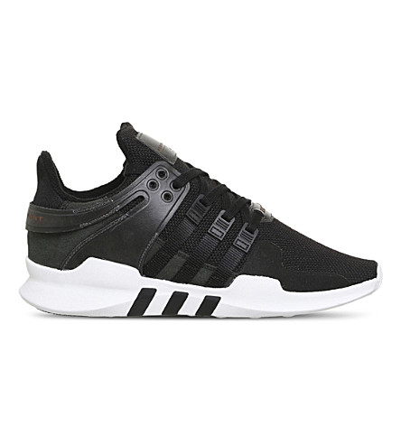 ADIDAS Equipment Support Adv knitted sneakers (Black+mono+white