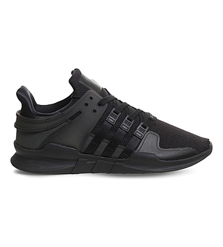 ADIDAS Equipment Support adv mesh trainers (Core+black+sub+green