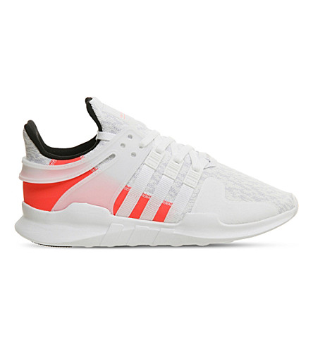 ADIDAS Equipment Support ADV mesh trainers (Crystal+white+turbo