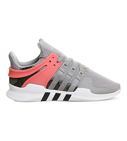 ADIDAS Equipment support ADV mesh trainers (Grey+black+turbo