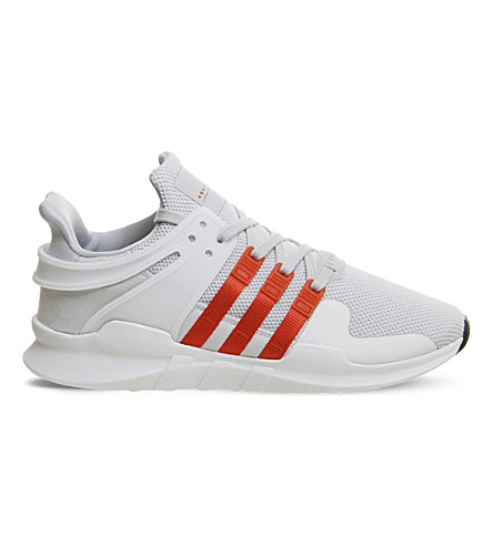 ADIDAS Equipment Support adv mesh trainers (Clear+grey+orange