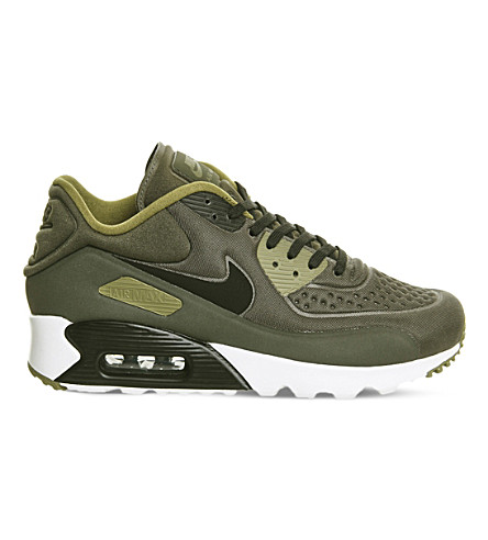 NIKE Air Max 90 Ultra textured trainers (Olve flak black