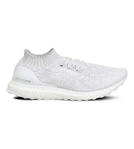 ADIDAS Y3 Ultra Boost Uncaged PRIMEKNIT trainers (White+white