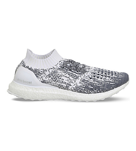 ADIDAS Ultra Boost patterned knitted trainers