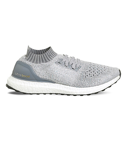 ADIDAS UltraBoost Uncaged PRIMEKNIT trainers (Clear+grey+mid+grey