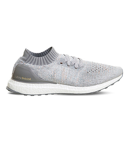 ADIDAS Ultra Boost Uncaged PRIMEKNIT trainers (Clear+grey+mid+grey
