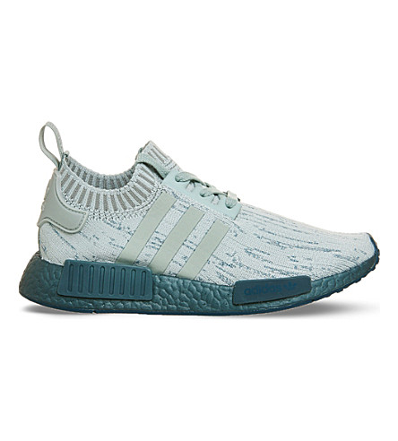ADIDAS Nmd R1 Primeknit trainers (Tactile+green+petrol