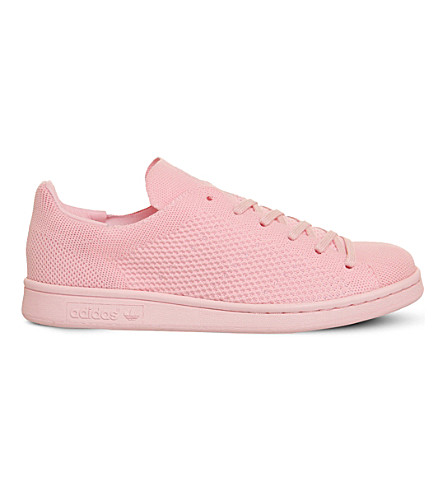 ADIDAS Stan Smith primeknit trainers (Semi pink glow