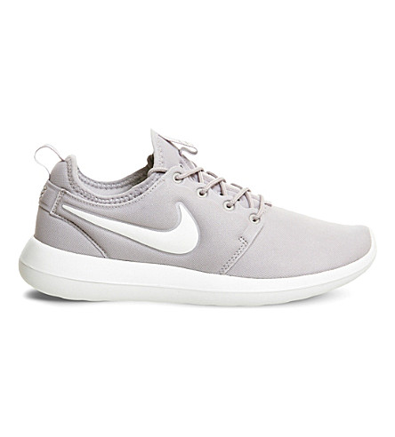 NIKE Roshe Two mesh trainers (Bone iron ore white