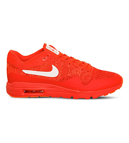 NIKE Air Max 1 ultra flyknit sneakers (Bright crimson