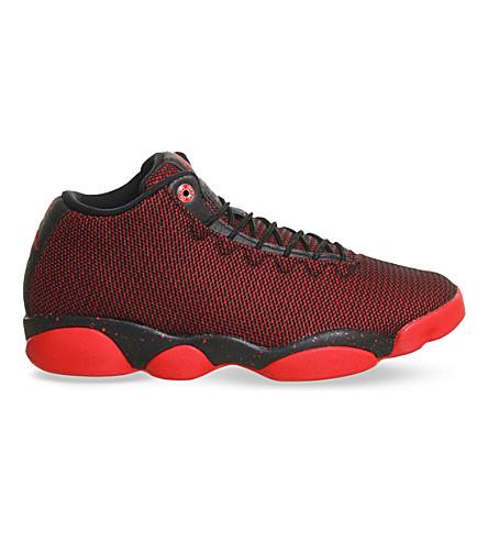NIKE Jordan horizon low-top mesh trainers (Black gym red