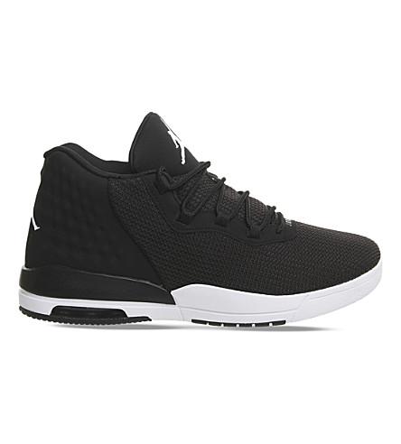 NIKE Jordan Academy mesh trainers (Black+white