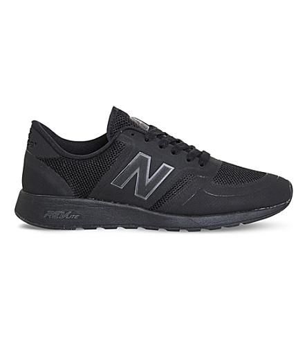 NEW BALANCE MRL 420 re-engineered mesh sneakers (Black+black