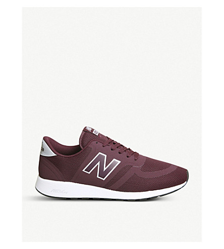 NEW BALANCE MRL 420 re-engineered mesh trainers (Burgundy