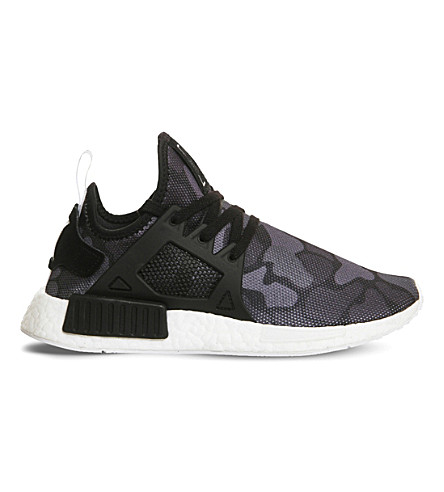 ADIDAS NMD XR1 mesh and rubber trainers (Black black white