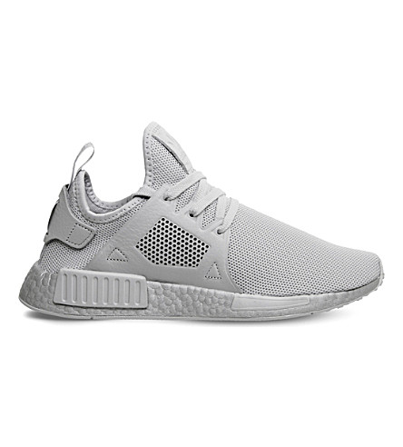 ADIDAS NMD XR1 textile trainers (Grey+silver