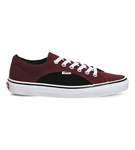 VANS Lampin suede trainers (Port+royal+black