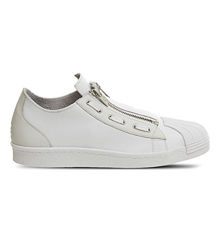 ADIDAS Y3 Y-3 Super Zip low-top trainers (White