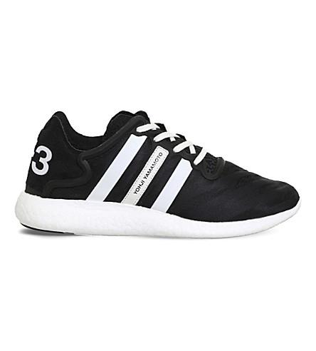 ADIDAS Y3 Yohji Run sneakers (Core+black+white