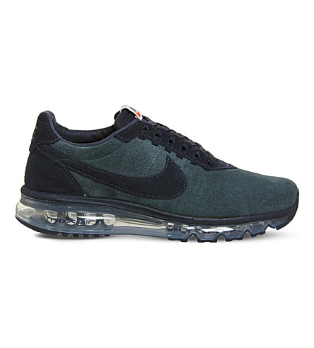 NIKE Air Max Zero suede and nylon trainers