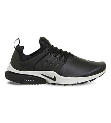 NIKE Air Presto mesh trainers (Black light bone