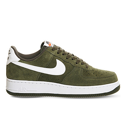 NIKE Air force 1 '07 suede trainers (Cargo khaki white