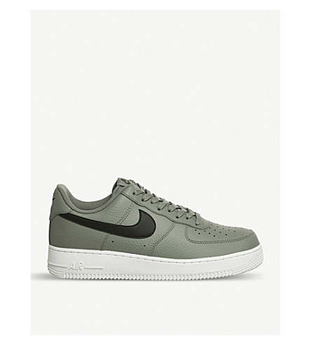 NIKE Air force 1 07 (Dark+stucco+black