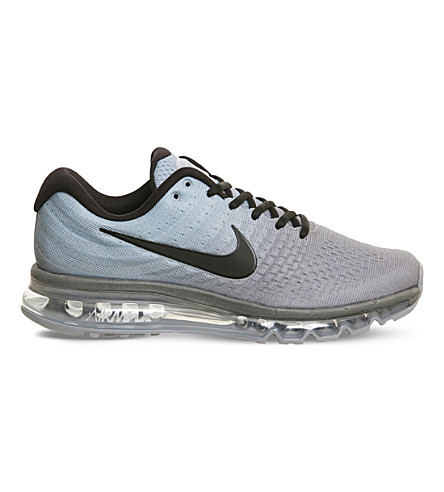 NIKE Air Max 2017 ombre mesh trainers (Tumbled+grey+stealth