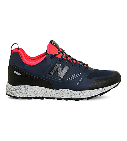 NEW BALANCE MFLTB Fresh Foam Trailbuster trainer (Blue+black+miasia