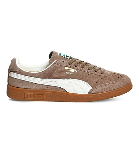 PUMA Madrid low-top suede trainers (Fossil+suede