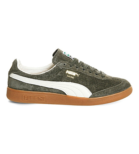 PUMA Madrid low-top suede trainers