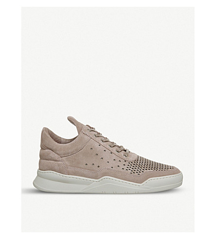 FILLING PIECES Filling Pieces Low-top Ghost trainers (Dusty+pink+suede