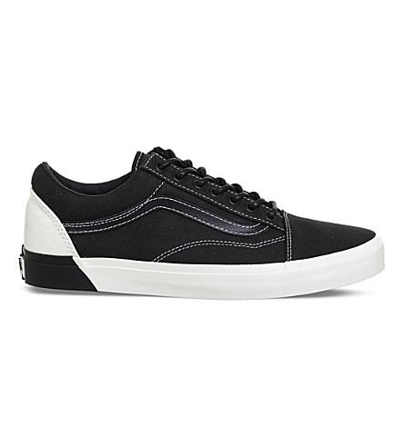 VANS Old skool DX trainers (Black+white+blocked