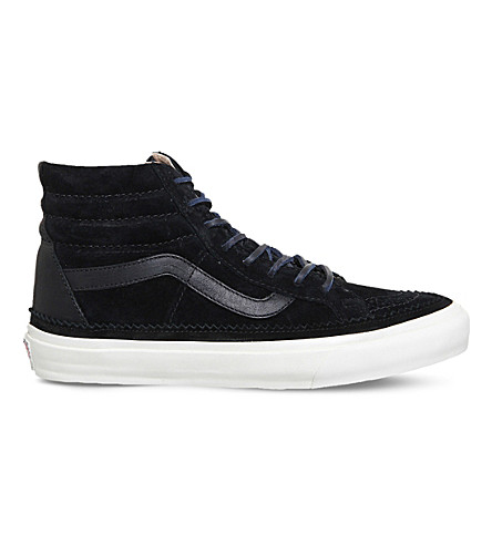 VANS Vans x Clothsurgeon Sk8-hi DX suede trainers (Clothsurgeon+black
