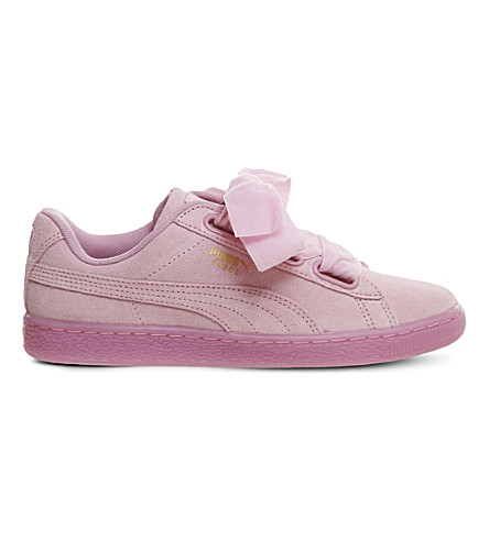 PUMA Suede Heart suede trainers (Prism+pink