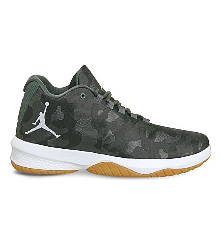 NIKE Jordan B. Fly mesh trainers (River+rock+stucco