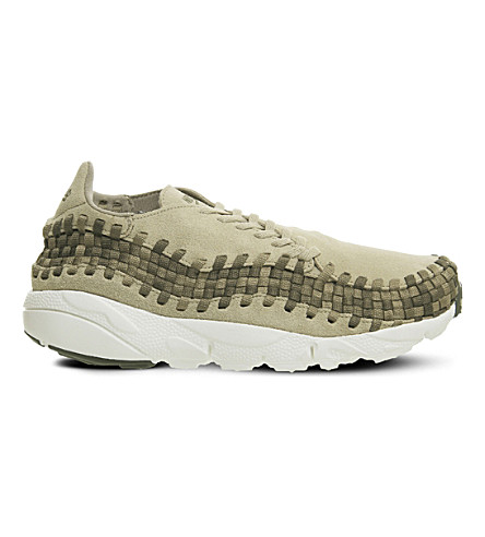 NIKE Air Footscape suede trainers (Khaki+olive+sail