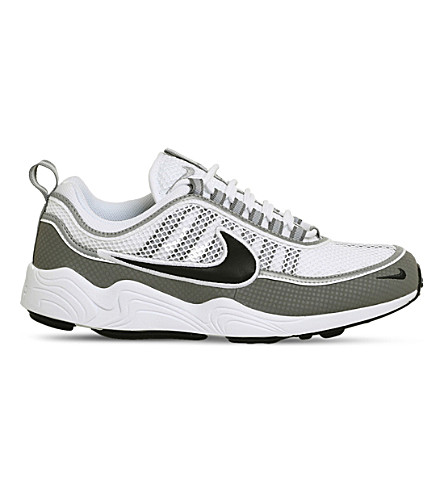 NIKE Zoom Spiridon leather and mesh trainers