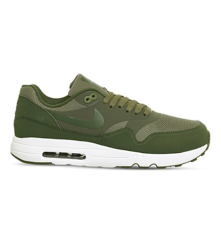 NIKE Air Max 1 Ultra 2.0 canvas sneakers (Olive+legion+green