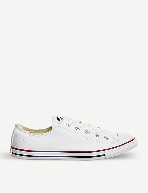 CONVERSE All Star Dainty canvas low-top trainers