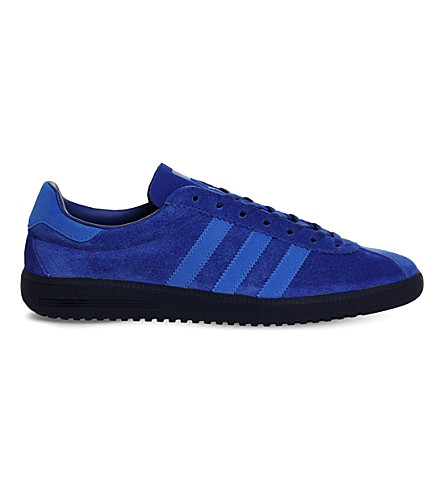 ADIDAS Bermuda lace-up suede trainers