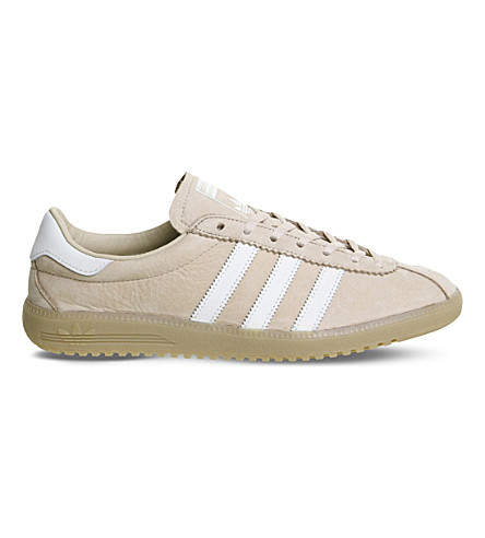 ADIDAS Bermuda leather trainers (St+pale+nude