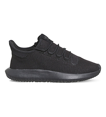 ADIDAS Tubular Shadow knitted trainers (Black+mono