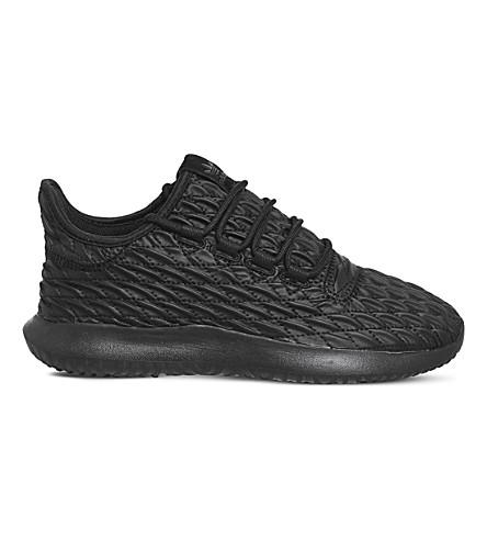 ADIDAS Tubular Shadow textured sneakers (Black+black+txt