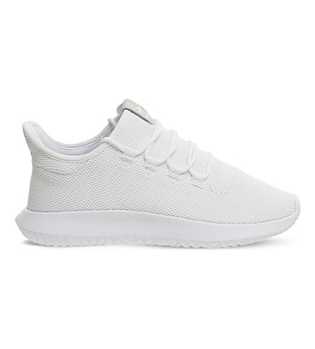 ADIDAS Tubular Shadow knitted trainers (White+mono