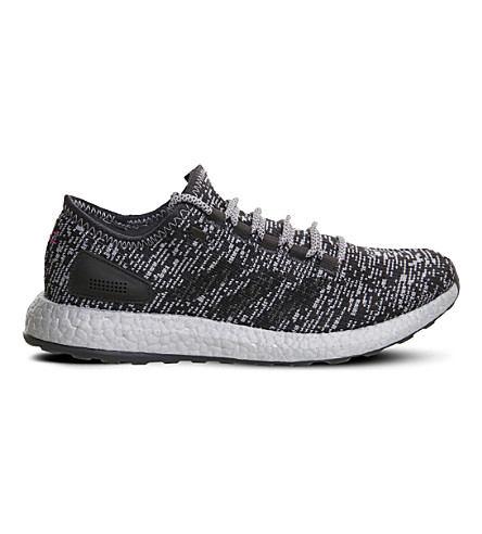 ADIDAS Pure Boost Statement primeknit trainers (Solid+grey